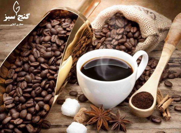 قهوه - گنج سبز